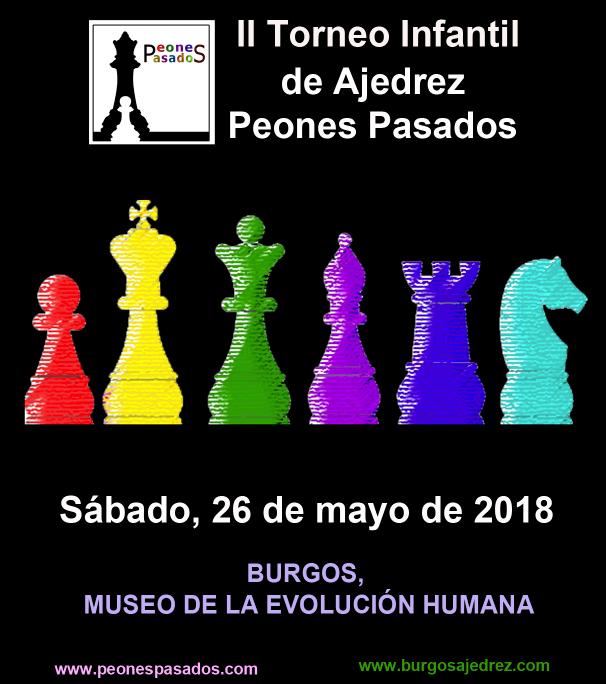 Cartel 2018 Torneo Peones